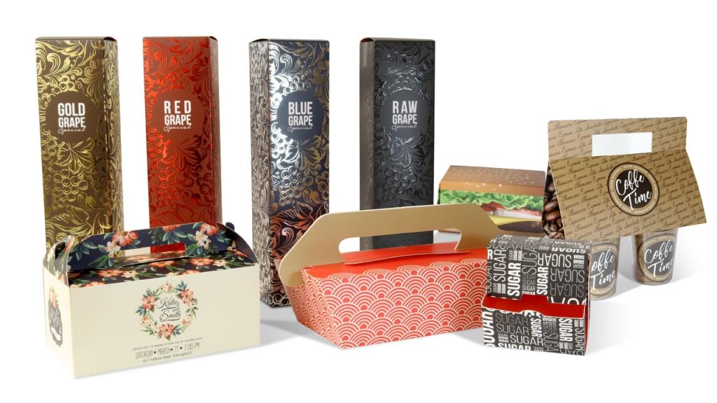 Nuevas plantillas de packaging de Truyol Digital - packaging promocional - packaging alimentario