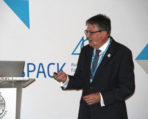 Tony Hitchin en el IX Congreso de ASPACK