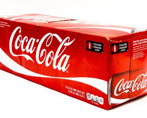 coca cola envase carton