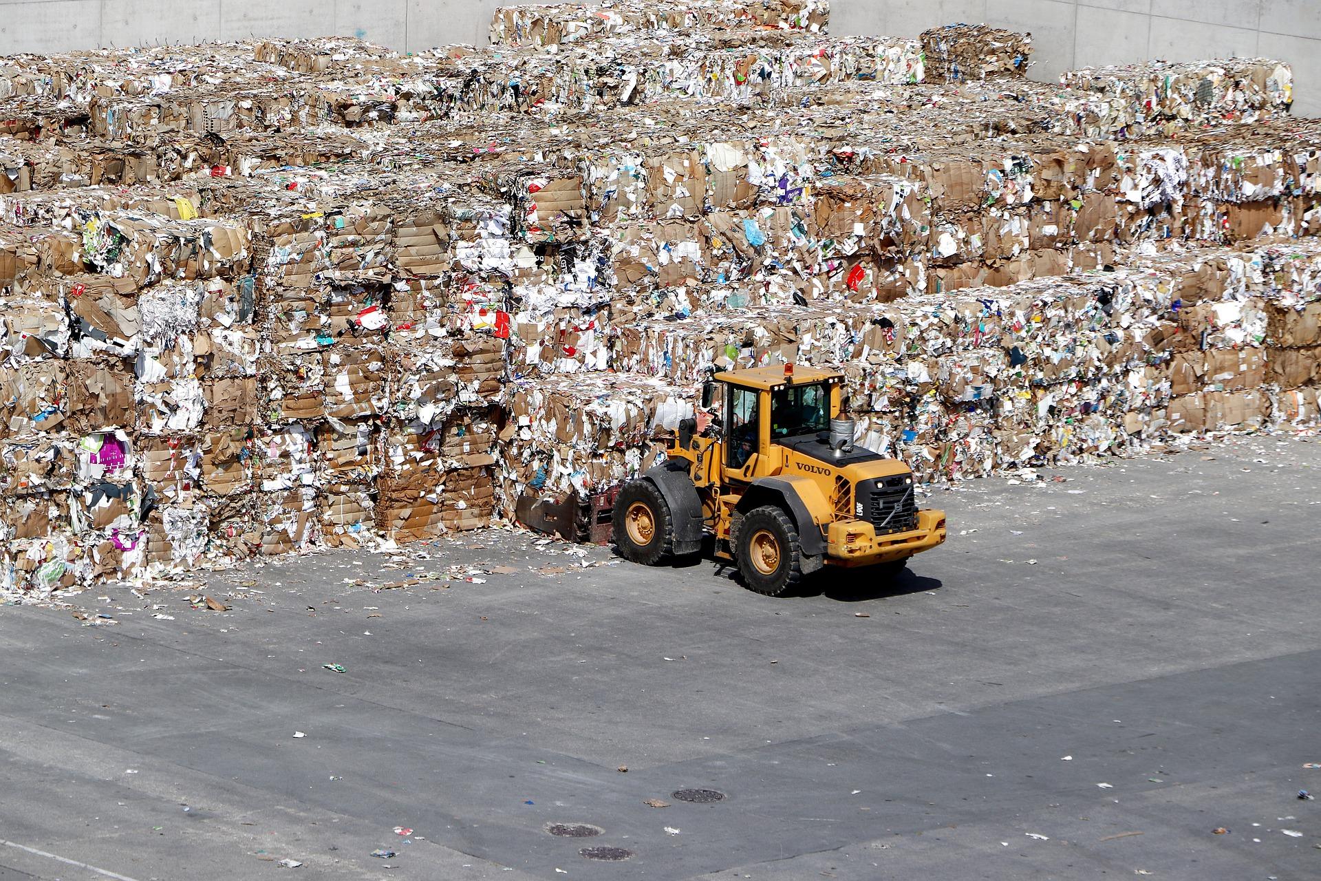 planta reciclaje papel