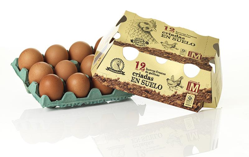 envase huevos alzamora